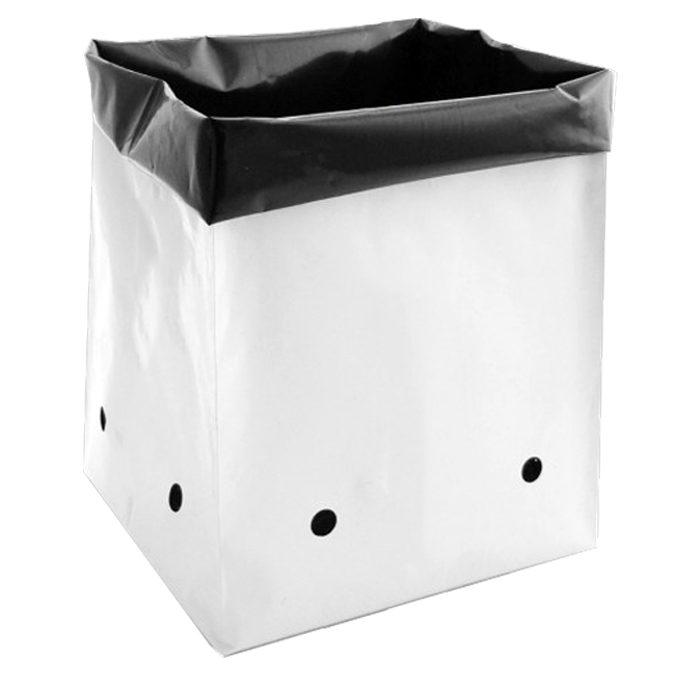 3 Gal B&W PE Grow Bag (50-pack)