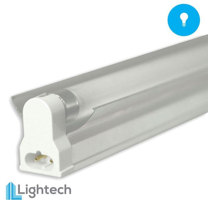 Lightech 2′ T5 Florescent Single Light W/ Reflector 24W 6500k