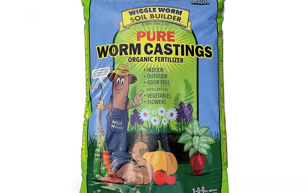 Super Poop Worm Casting 20 LB