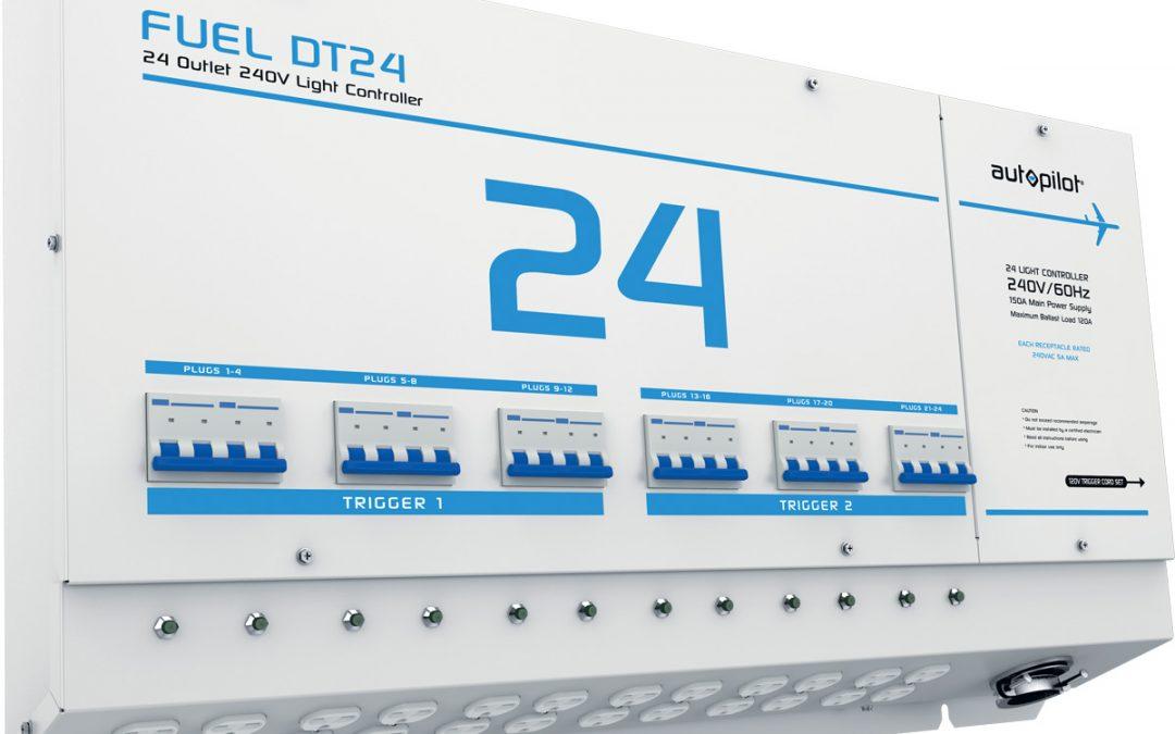 FUEL DT24 Light Controller – 24 Outlet, 240V w/ Dual Trigger