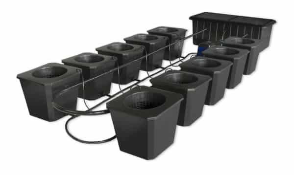 BubbleFlow Bucket 10 Site DWC System