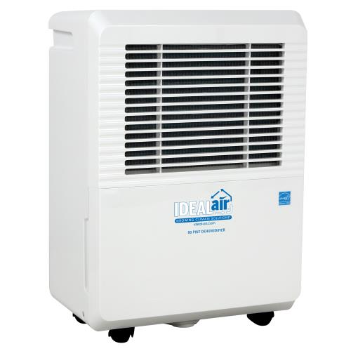 Ideal-Air Dehumidifier 50 Pint – Up to 80 Pints Per Day