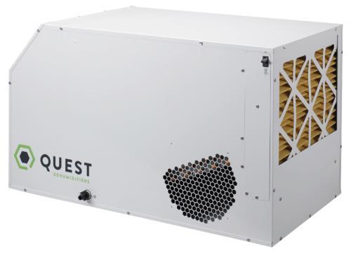 Quest Dual 165 Overhead Dehumidifier