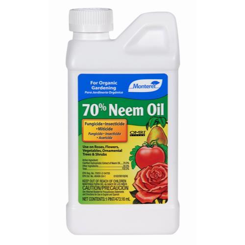 Monterey 70% Neem Oil Conc. Pint (6/Cs)