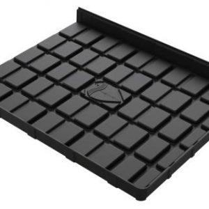 Botanicare 4'W x 5'L Black ABS End Tray