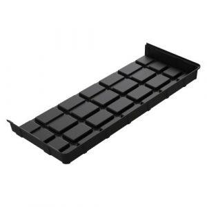 Botanicare 5'W x 2'L Black ABS End Tray