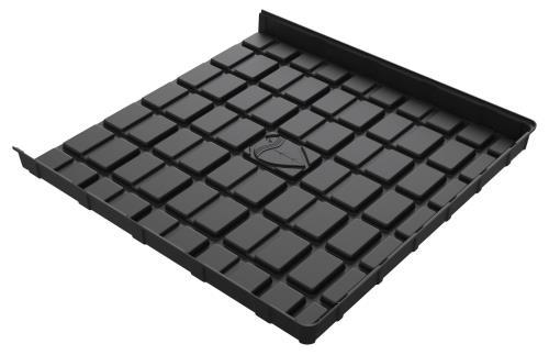Botanicare 5'W x 5'L Black ABS End Tray
