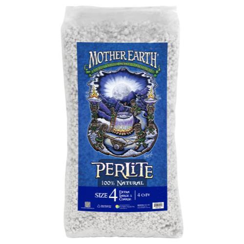 Mother Earth Perlite # 4 - 4 cu ft (30/Plt)