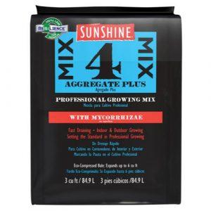 Sunshine Mix # 4 w/ Mycorrhizae 3.0 cu ft (35/Plt)