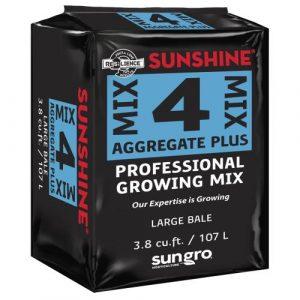 Sunshine Mix # 4 Aggregate Plus Bale 3.8 cu ft (30/Plt)