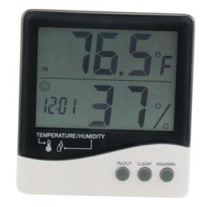 Grower's Edge Large Display Thermometer / Hygrometer (20/Cs)