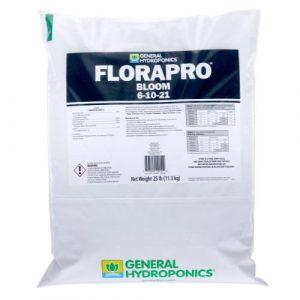 General Hydroponics FloraPro Bloom Soluble 25 lb bag (80/Plt)