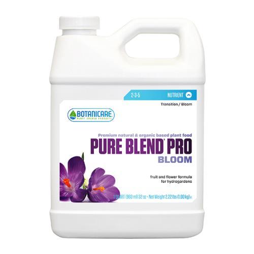 Botanicare Pure Blend Pro Bloom Quart (12/Cs)