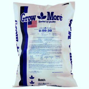 Grow More Flower Hardener (0-50-30) 25 lb