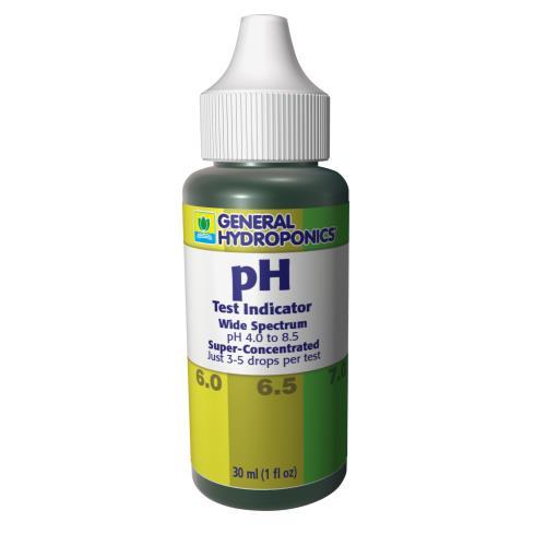 GH pH Test Kit 1 oz (24/Cs)