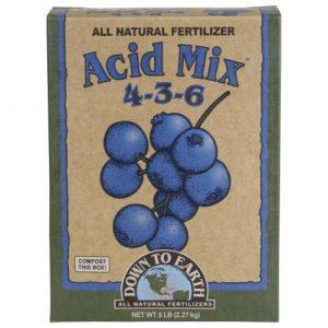 Down To Earth Acid Mix - 5 lb (6/Cs)