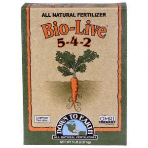 Down To Earth Bio-Live - 5 lb (6/Cs)