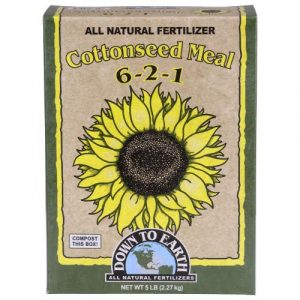 Down To Earth Cottonseed Meal - 5 lb (6/Cs)