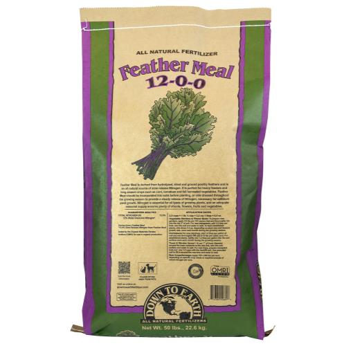 Down To Earth Feather Meal - 50 lb