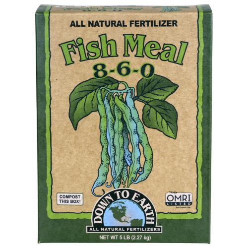 Down To Earth Fish Meal - 5 lb (6/Cs)