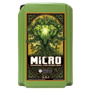 Emerald Harvest Micro 2.5 Gal/9.46 L (2/Cs)