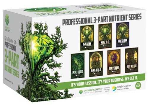 Emerald Harvest Kick-Starter Kit - 3 Part Base (1/Cs)