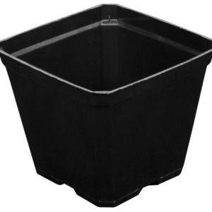 Gro Pro Black Plastic Pot 3.5 in x 3.5 in x 3 in (800/Cs)