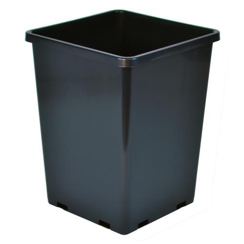 Gro Pro Rose Bucket Black 7.6 in x 7.6 in x 9.7 in (10/Cs)