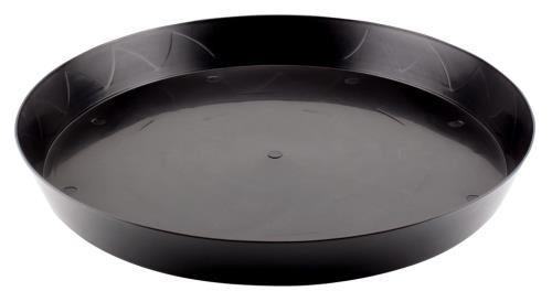 Gro Pro Heavy Duty Black Saucer - 16 in (35/Cs)