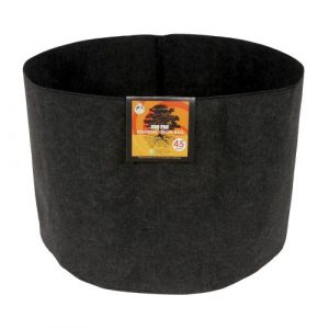 Gro Pro Essential Round Fabric Pot - Black 45 Gallon (25/Cs)