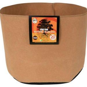 Gro Pro Essential Round Fabric Pot - Tan 20 Gallon (42/Cs)