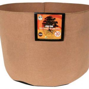 Gro Pro Essential Round Fabric Pot - Tan 30 Gallon (30/Cs)