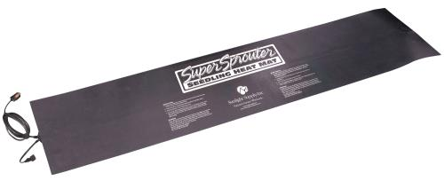 Super Sprouter 2 Tray Seedling Heat Mat Daisy-Chainable 12 in x 48 in (12/Cs)