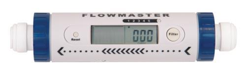 Hydro-Logic Flowmaster Flow Meter 3/8 in