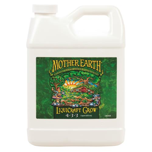 Mother Earth  LiquiCraft Grow 4-3-3 1QT/6