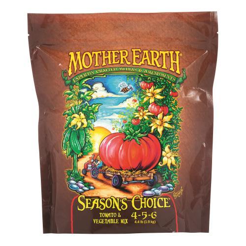 Mother Earth Seasons Choice Tomato & Vegetable Mix 4-5-6 4.4LB/6