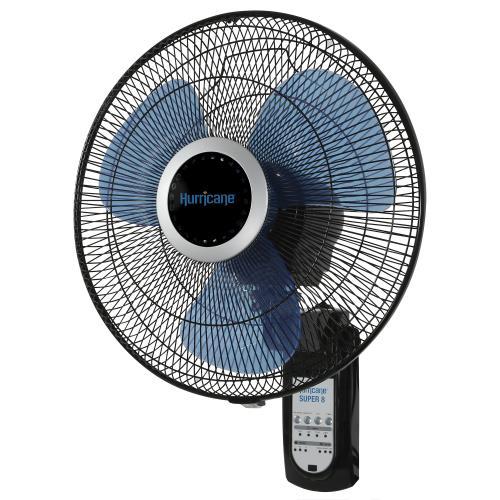 Hurricane Super 8 Oscillating Digital Wall Mount Fan 16 in (48/Plt)
