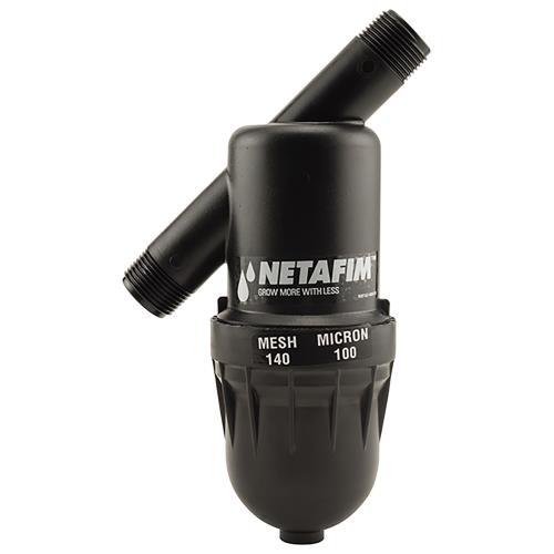 Netafim Disc Filter 3/4 in MPT x MPT 140 Mesh 17 GPM Maximum Flow (1/Cs) [DF075-140]