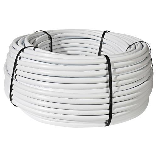 Netafim Bright White Polyethylene Tubing 3/4Inches (0.820Inches ID, 0.940Inches OD) - 500 ft (1/Cs)