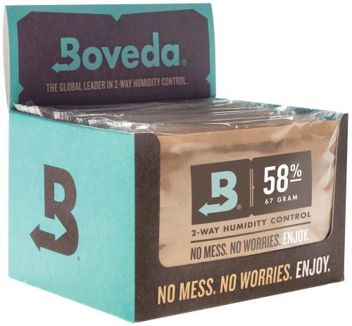 Boveda 67g 2-Way Humidity 58% (12/Pack)