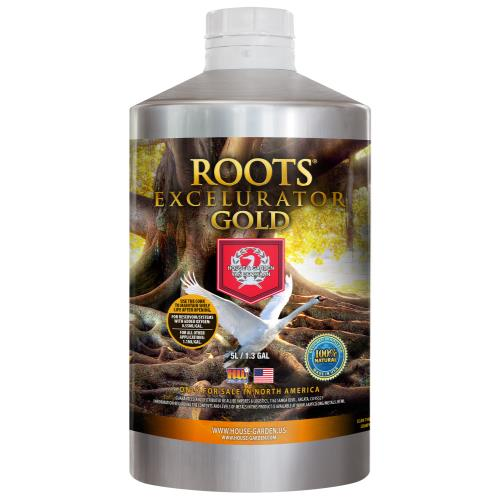 House and Garden Roots Excelurator Gold 5 Liter (2/Cs)