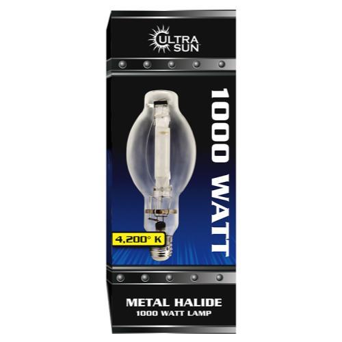 Ultra Sun MH 1000/U/BT-37 4200K Lamp (12/Cs)