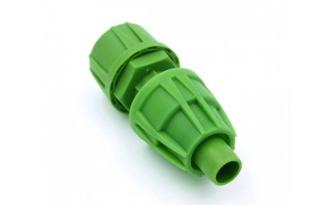 Micro Drip Pipe Adapter w/ Cap