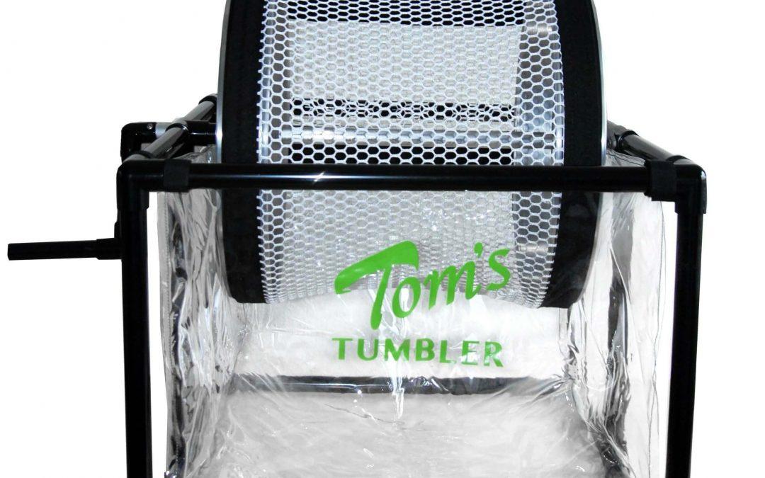 Tom's Tumbler 1600 Bud Trimmer – Handcrank